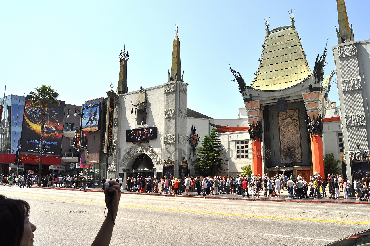 Graumanns Chinese Theatre, Hollywood, LA, USA