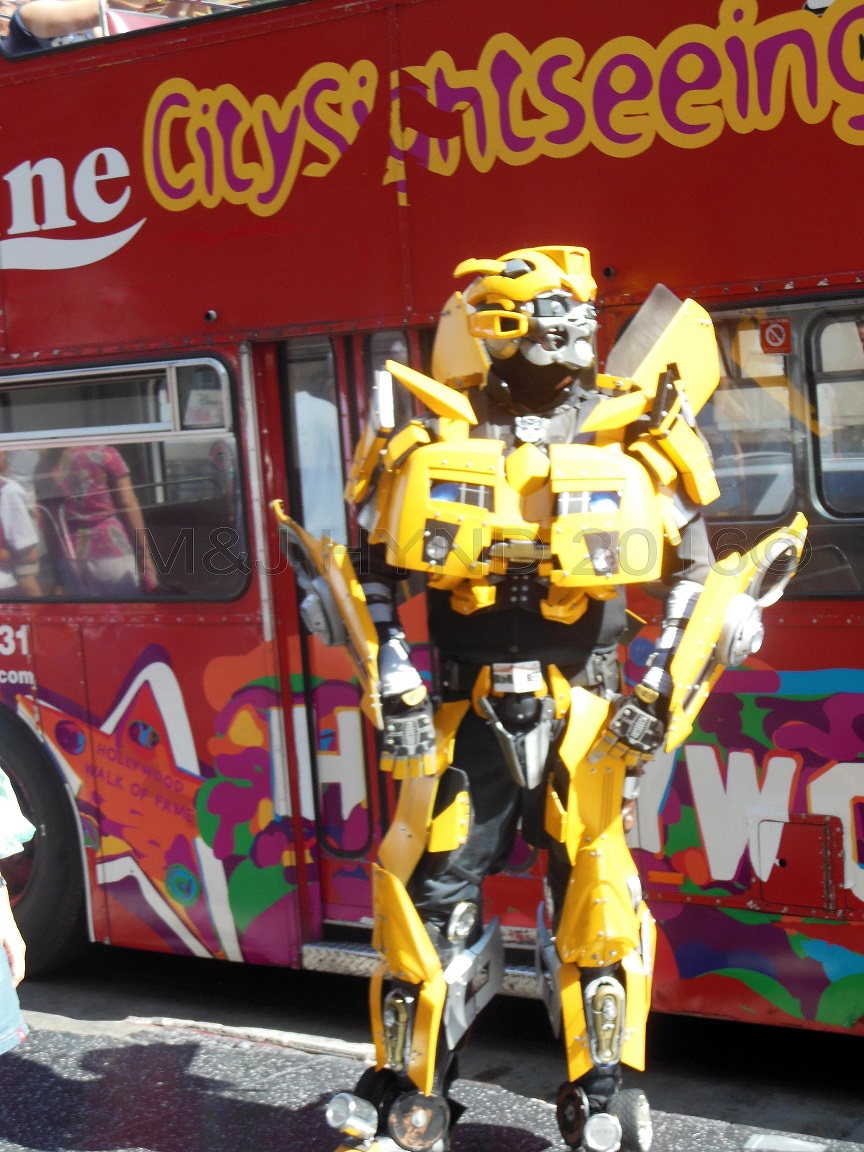 cosplay Transformer, Hollywood, LA, USA
