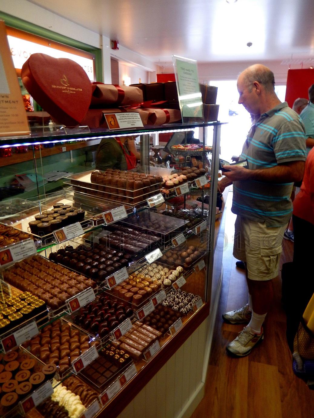 Devonport chocolates, Auckland, NZ