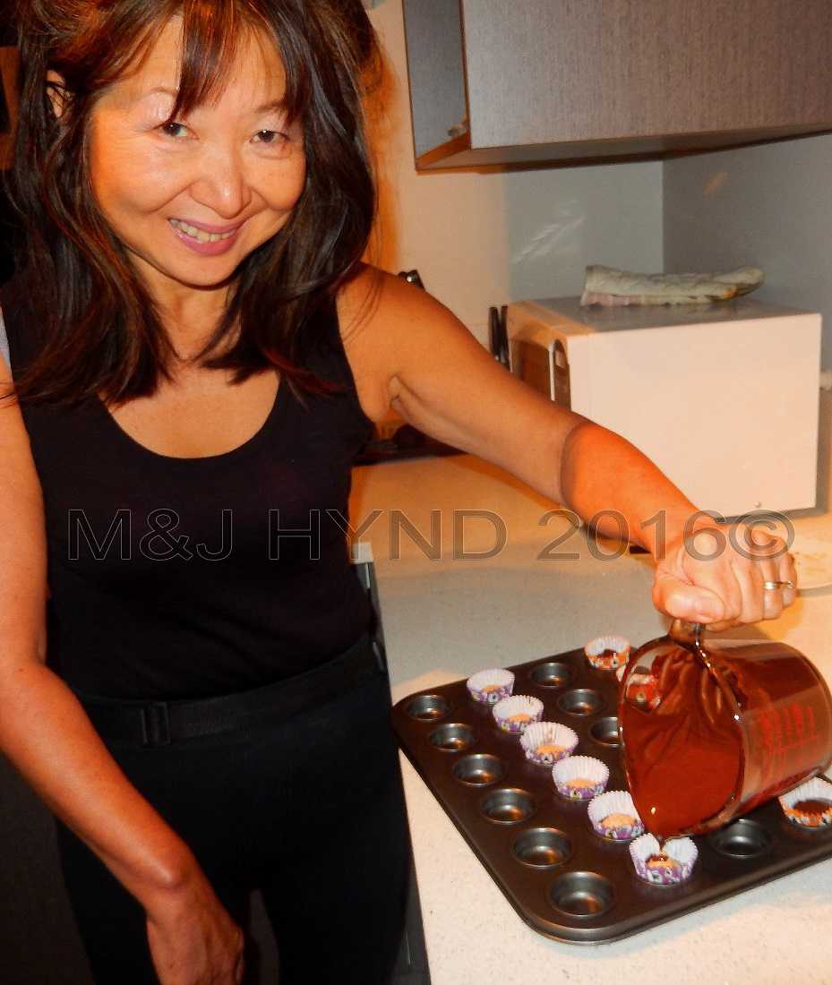 pouring chocolate, DIY, Auckland, NZ
