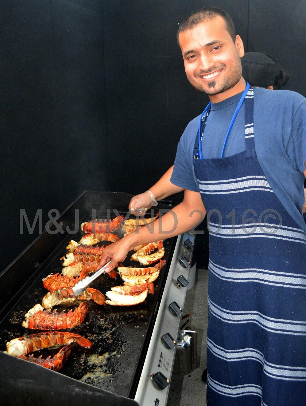 crayfish lobster, Seafood Festival, Auckland, NZ