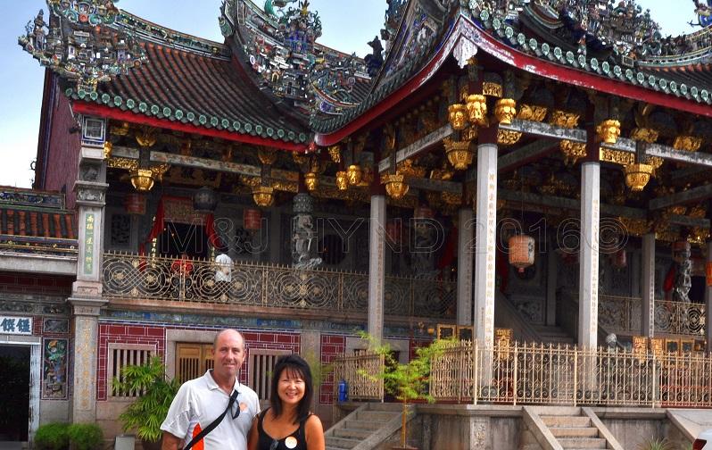 Khoo Kongsi Temple, Penang, Malaysia