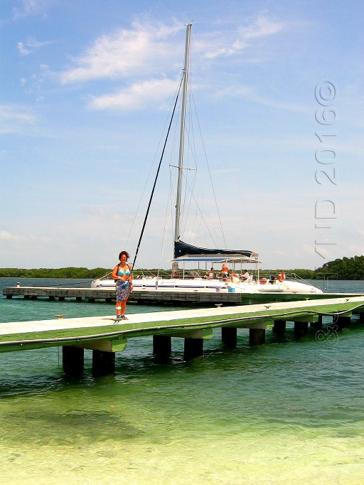Cayo Blanco, daytrip on catamaran from Varadero, Cuba
