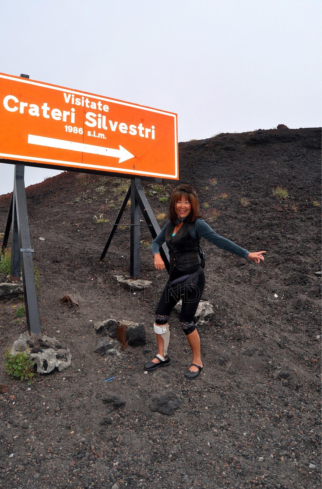 loose scoria, lava rock, Crateri Silvestri, Mt Etna, Sicily