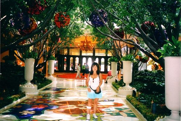 Flowerballs, mosaic, Wynns Casino, Las Vegas, USA