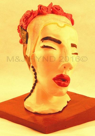 onehand handmade glazed stoneware ceramic sculpture, Auckland NZ