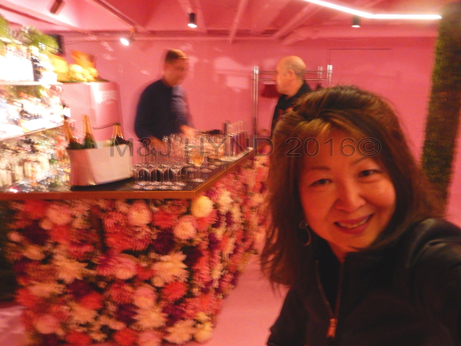 floral bar, Britomart area, Auckland, NZ
