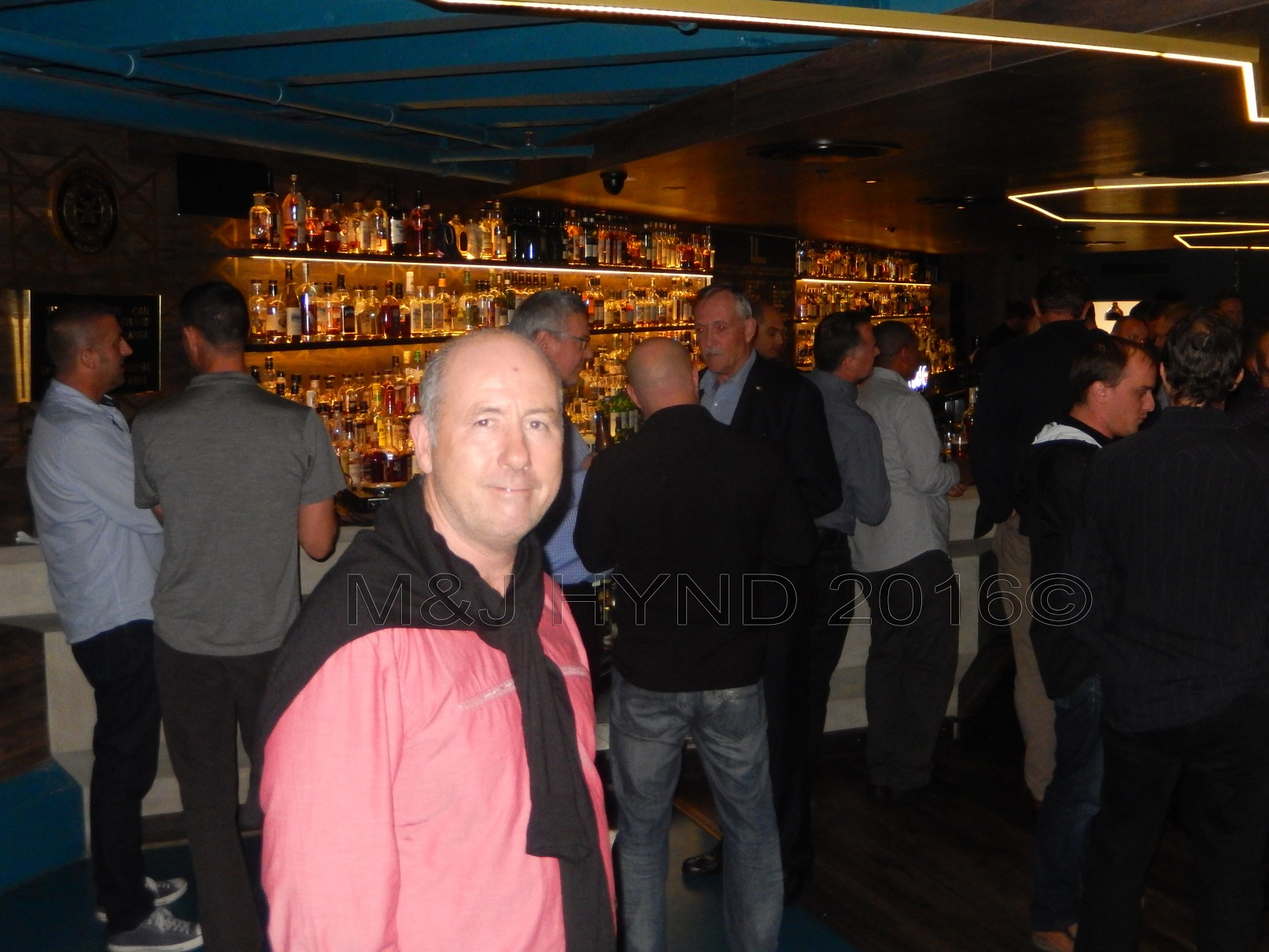 whisky bar at Jeffersons, Britomart area, Auckland, NZ
