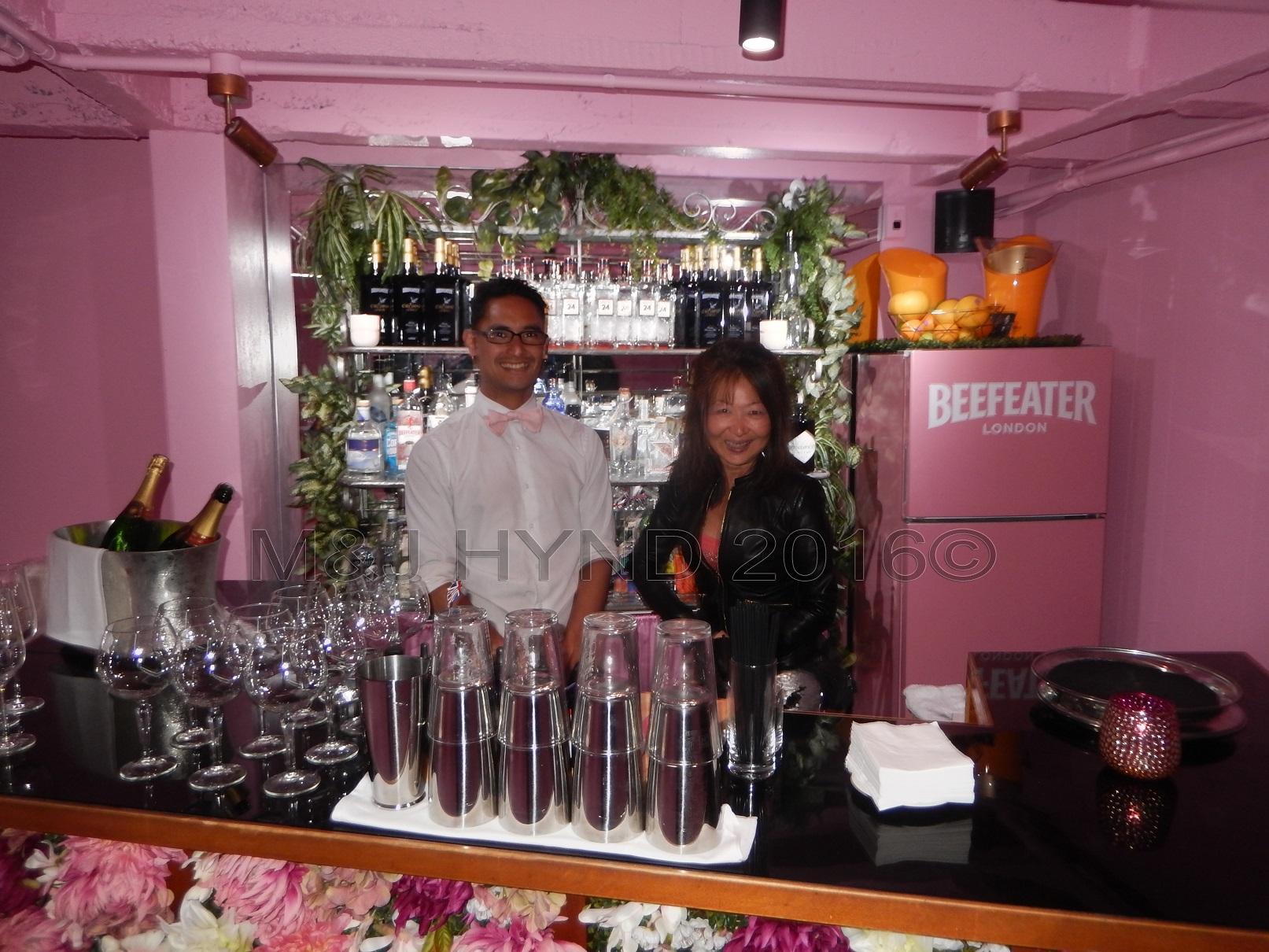 floral bar, Britomart area, Auckland, NZ
