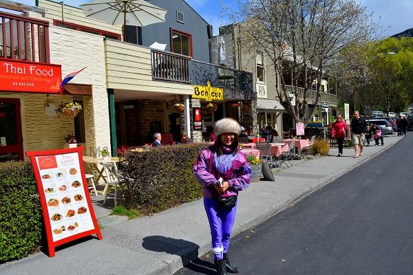 Restaurant street, Arrowtown, NZ