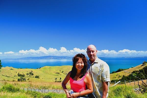 pristine land and sea, endless sky, Coromandel Peninsular, NZ