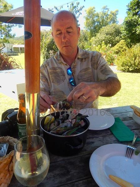 Mussel Kitchen restaurant, Coromandel, NZ