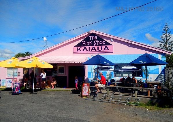 Pink shop café, Kaiaua, Kaiaua, NZ