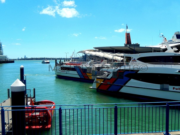 Ferry terminal, waterfront, Auckland, NZ