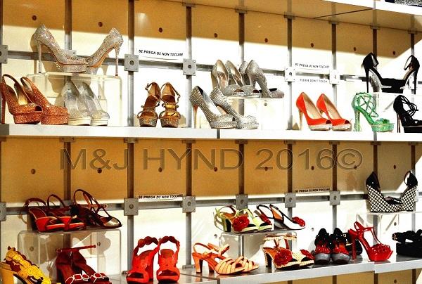 glitter stilletos, trendy fashion shoes, Elche, Spain