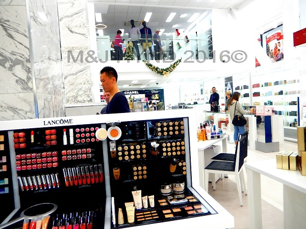 Lancome counter department store, Auckland, NZ