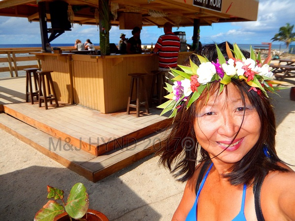 Islander hotel Hula Bar: all day happy hour, Avarua, Rarotonga, Cook Islands