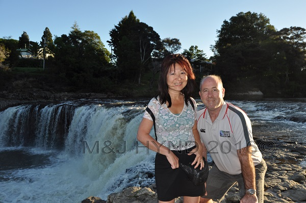 Haruru horseshoe falls, Kerikeri, Northland, NZ