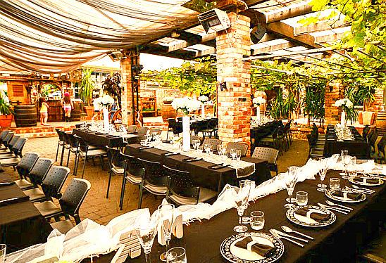 Vilagrad Wines wedding banquet, Ohaupo, Waikato, NZ