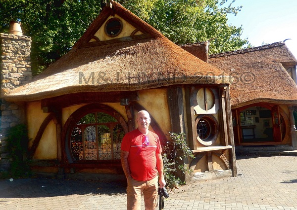 Matamata LOTR-style tourist office, Waikato, NZ
