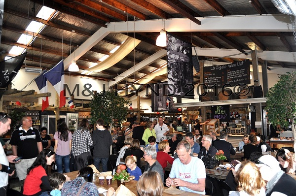 café and delicatessen, French Market at La Cigale, Parnell, Auckland, NZ