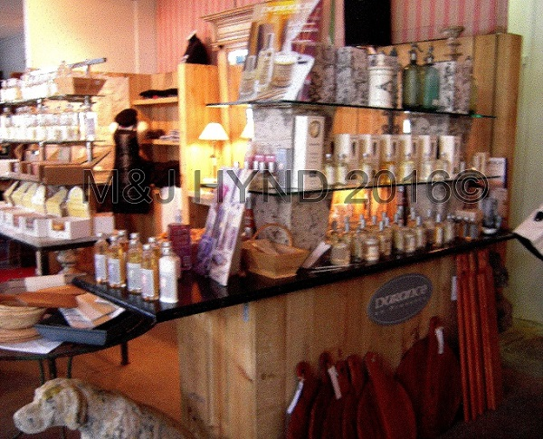 gift fragrance counter, French Market at La Cigale, Parnell, Auckland, NZ