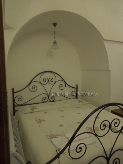 super thick walls in Trulli house, Alberobello, Puglia, Italy