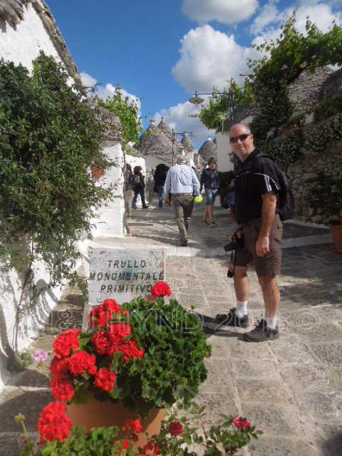 Trulli street, Alberobello, Puglia, Italy
