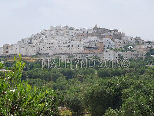Ostuni white ancient town, Puglia, Italy