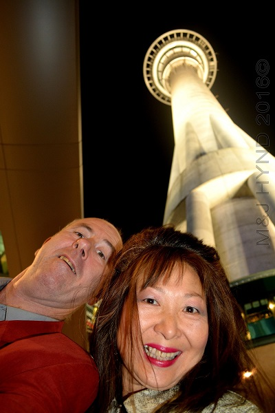 SkyTower by night, Auckland, NZ