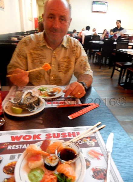 Wok Sushi buffet restaurant all you can eat, Elche, Spain
