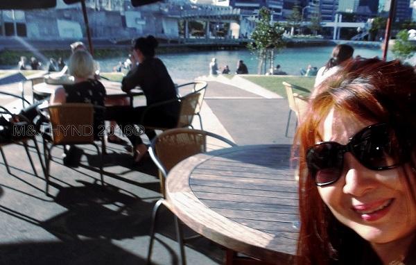 Te Raukura Karaka café, waterfront, Wellington, NZ