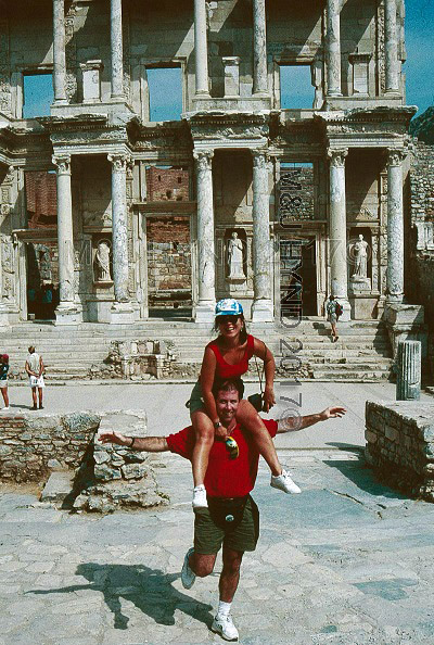 PreStroke - Library of Celsus, Ephesus, Turkey