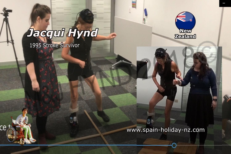 2018 AUT Walk STUDY usING EEG & FES, NZ