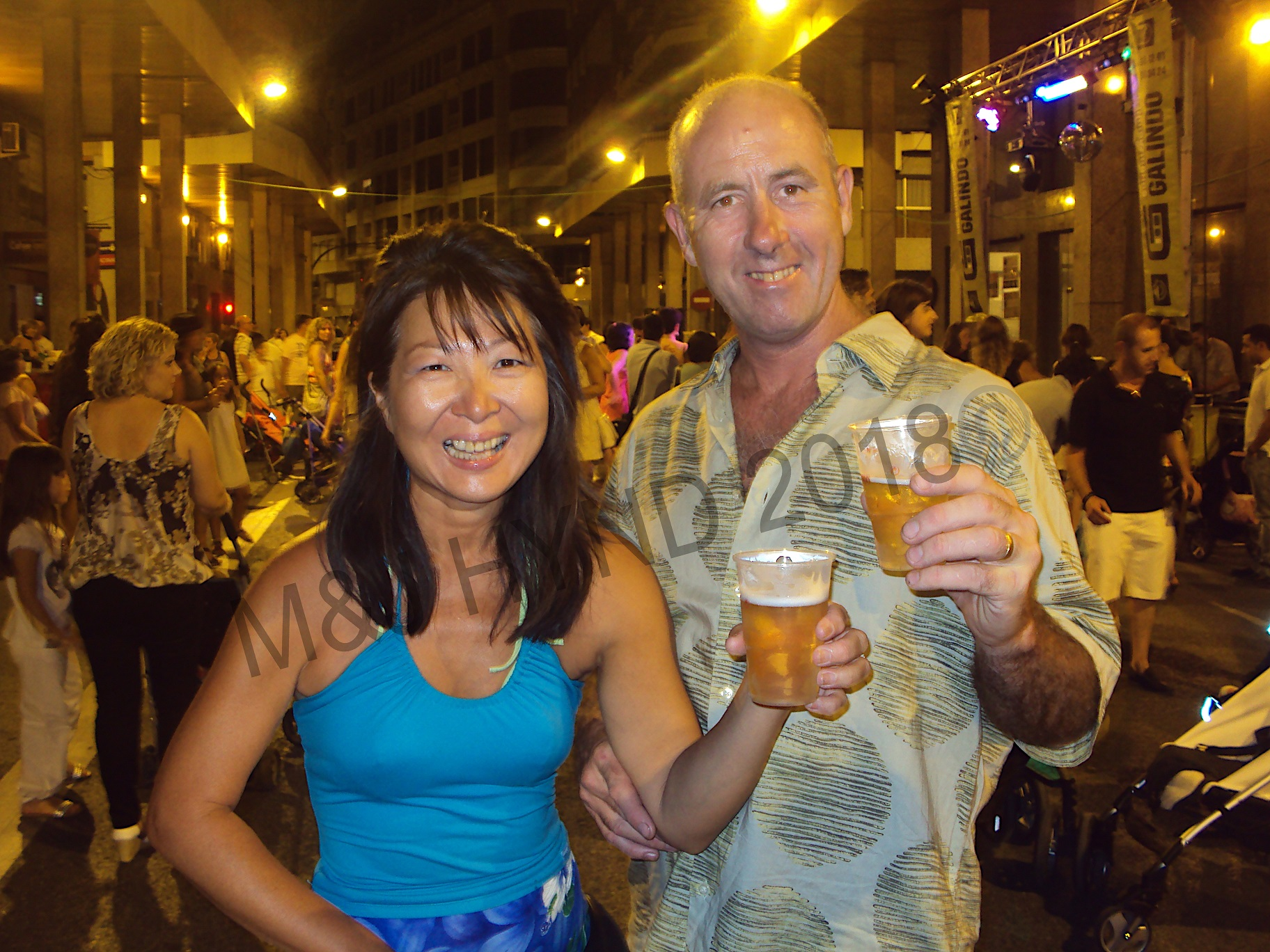 3am, +34C heat, but the beer is cold