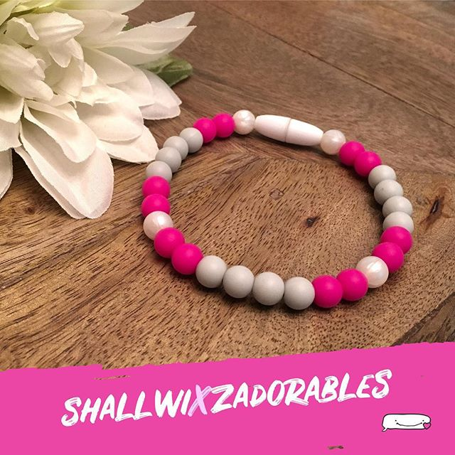 "We are beyond excited and proud to announce our collab with @zadorables in support of breast cancer research, treatment and prevention. This limited edition ""Running for Pearl"" bracelet is available beginning today until October 31, 2018 and is made to order! Zadorables will be donating 25% of the sale of this bracelet to @teamshallwi's #CIBCRunfortheCure fundraising efforts. Get yours now by getting into contact with Alyissa and show your support! Want to do more? Feel free to donate to Team Shallwi! (Bracelet may vary in appearance based on wrist size. Please contact Zadorables for additional details.) #shallwixzadorables #collab"