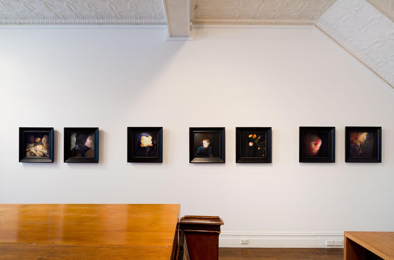 Installation view of Sophia Szilagyi's exhibition ' Nostalgia ' held at Port Jackson Press, April 2017. Photo: Christian Capurro