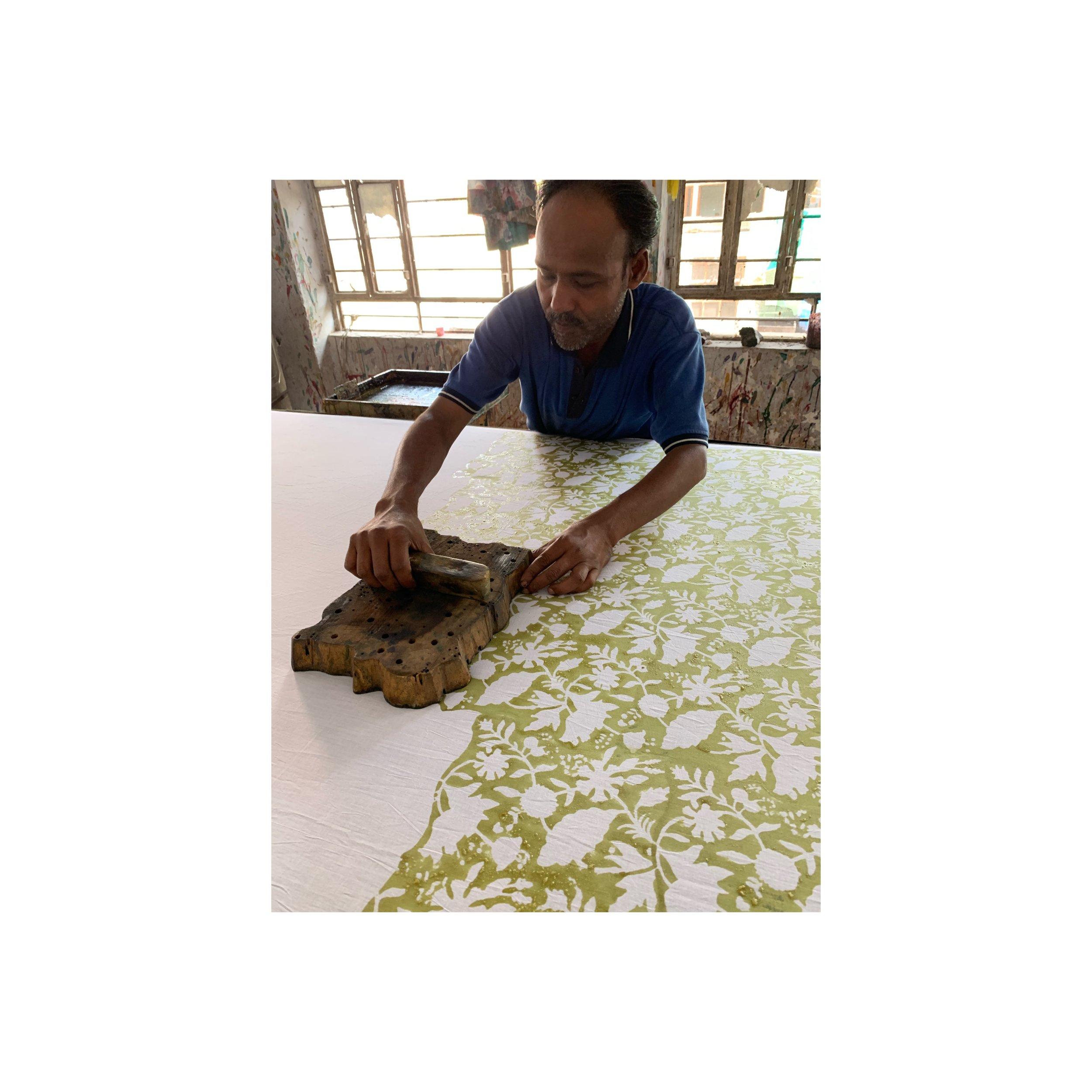 Exploring India Textile, Block Print and Weaving techniques - Sahana Byron Bay.JPG