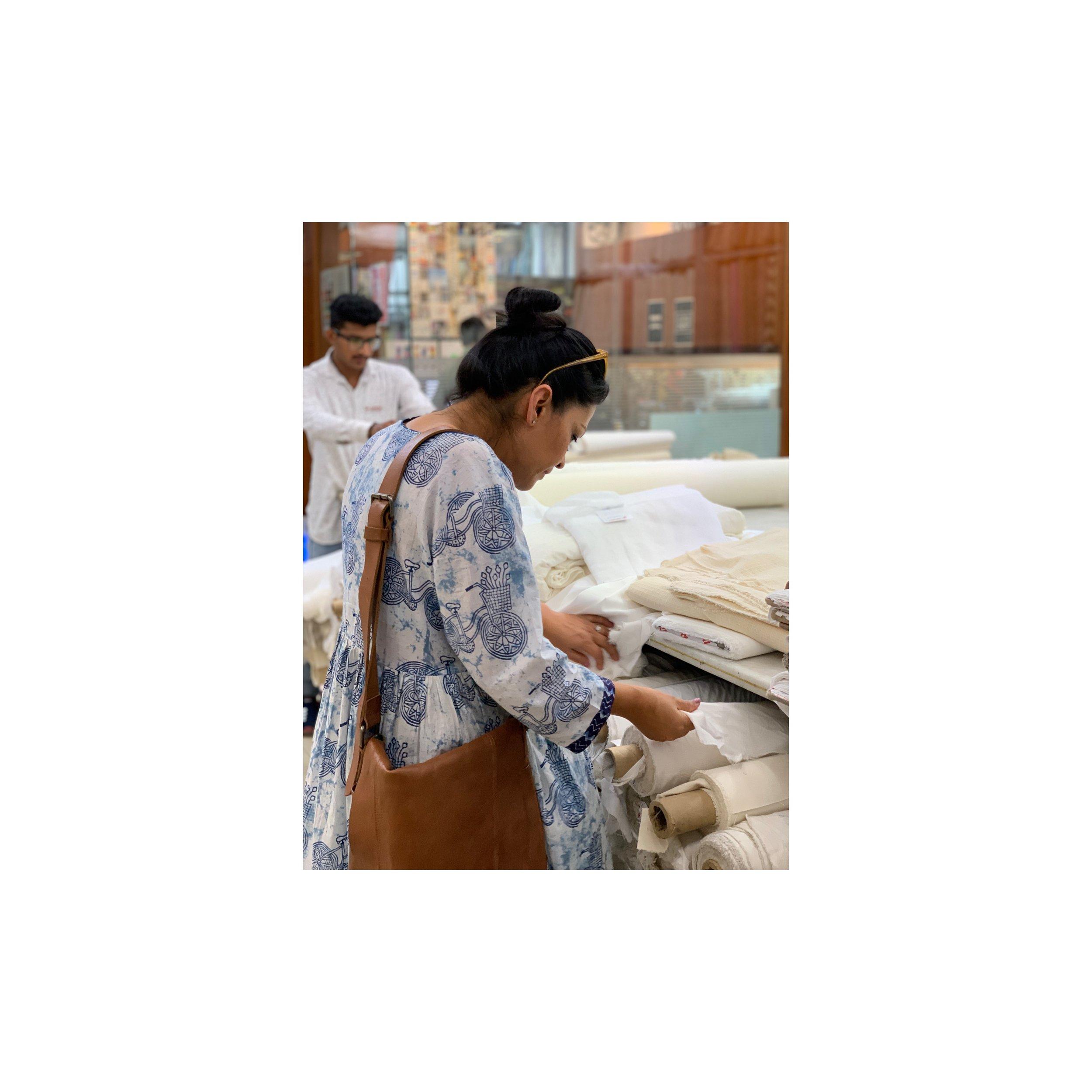 Sourcing Cotton, Linens and Silks in India Fabric Markets - Sahana Byron Bay.JPG