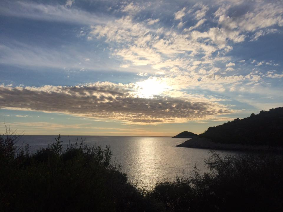 The south-west side of the island provides some spectacular sunsets
