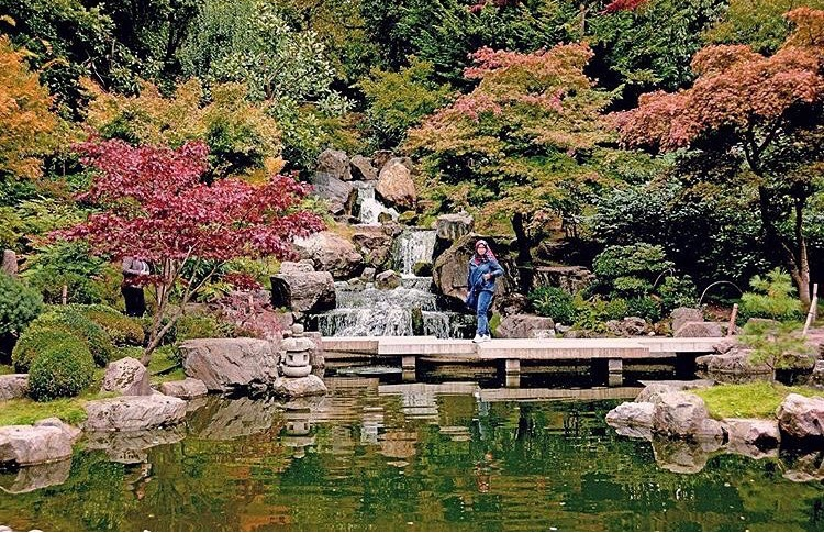 The Kyoto Garden at Holland Park - A taste of Japan in London. Autumn's our favourite season to visit.Nearby: Leighton House Museum - not just great art, but the building itself is an art.