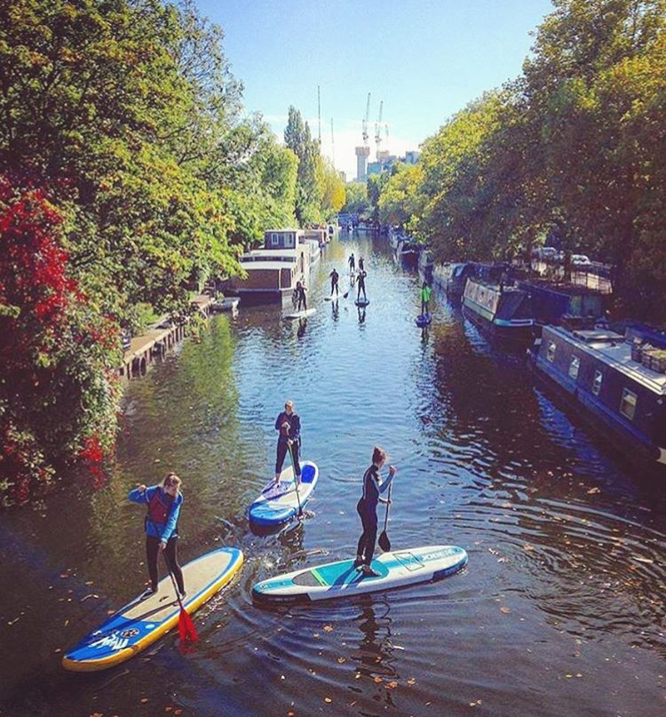 Stand-up Paddle Boarding in Thames - A different way to enjoy London.