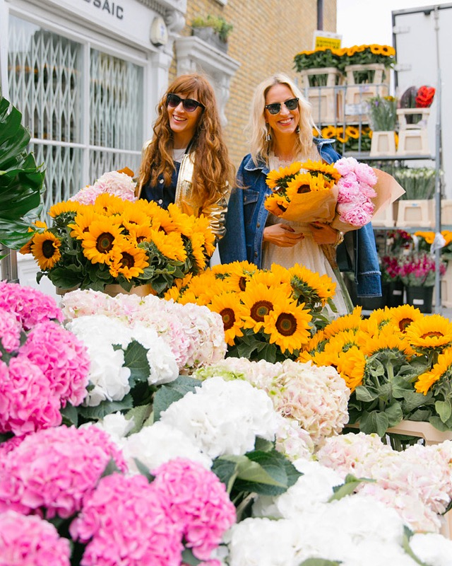 Columbia Road Flower Market - You've got to be in a good mood when surrounded with the flowers.Our other favorite markets: Old Spitalfields Market, Brixton Market, Borough Market.