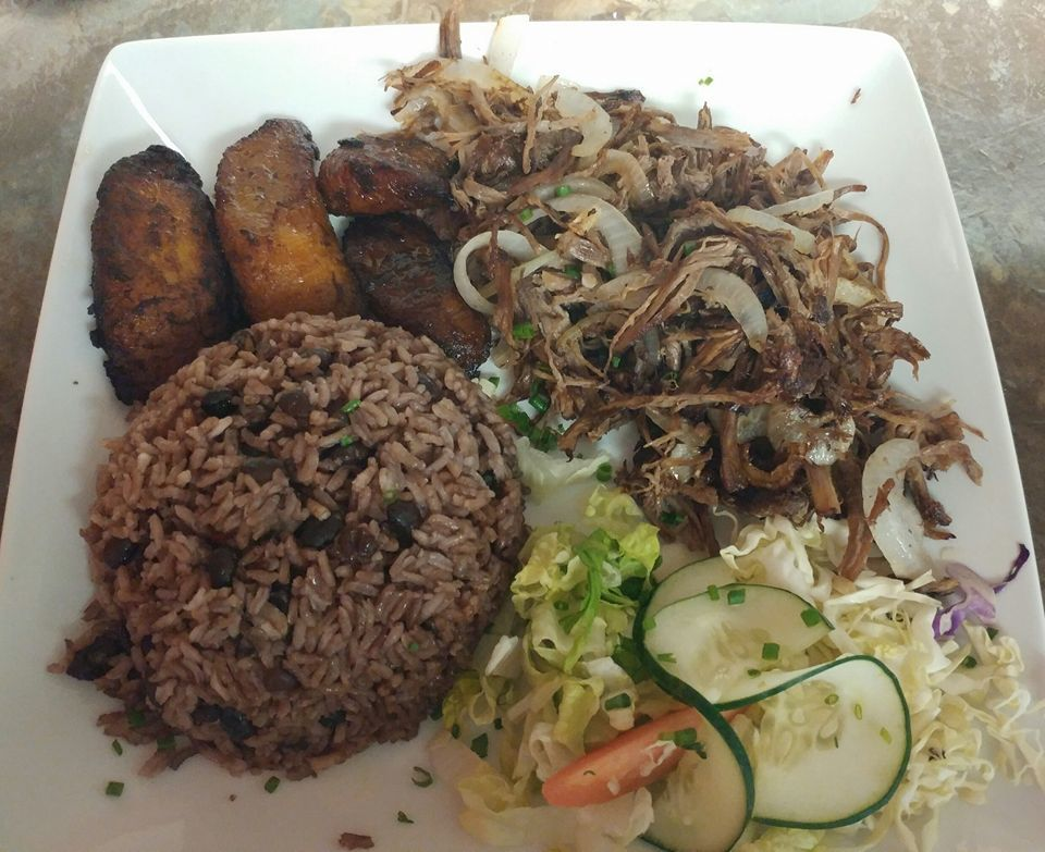 Typical Cuban food