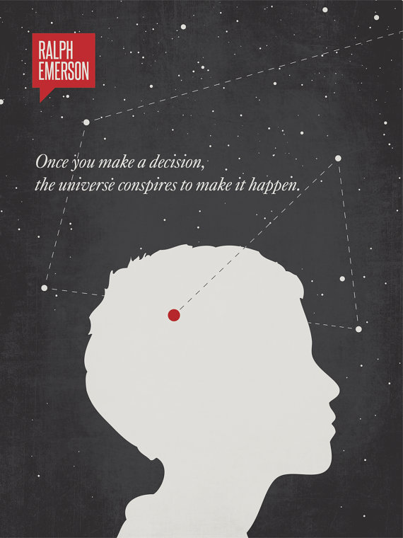 Illustrated Quote Poster  |  Source