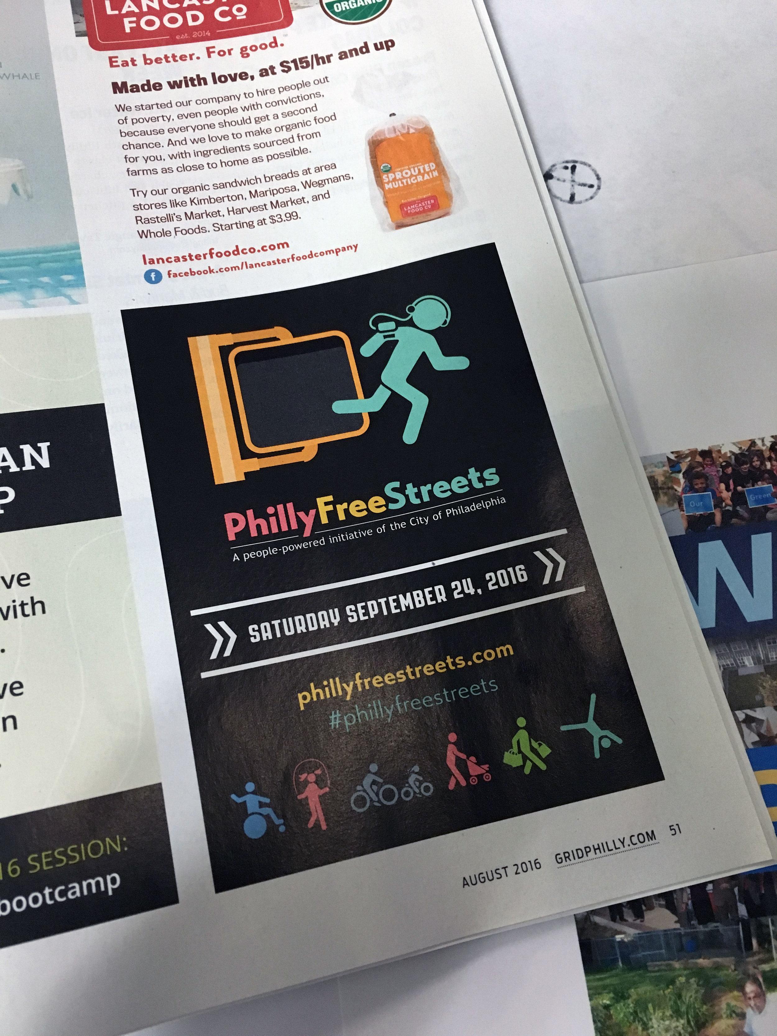 Advertisement in Grid Magazine