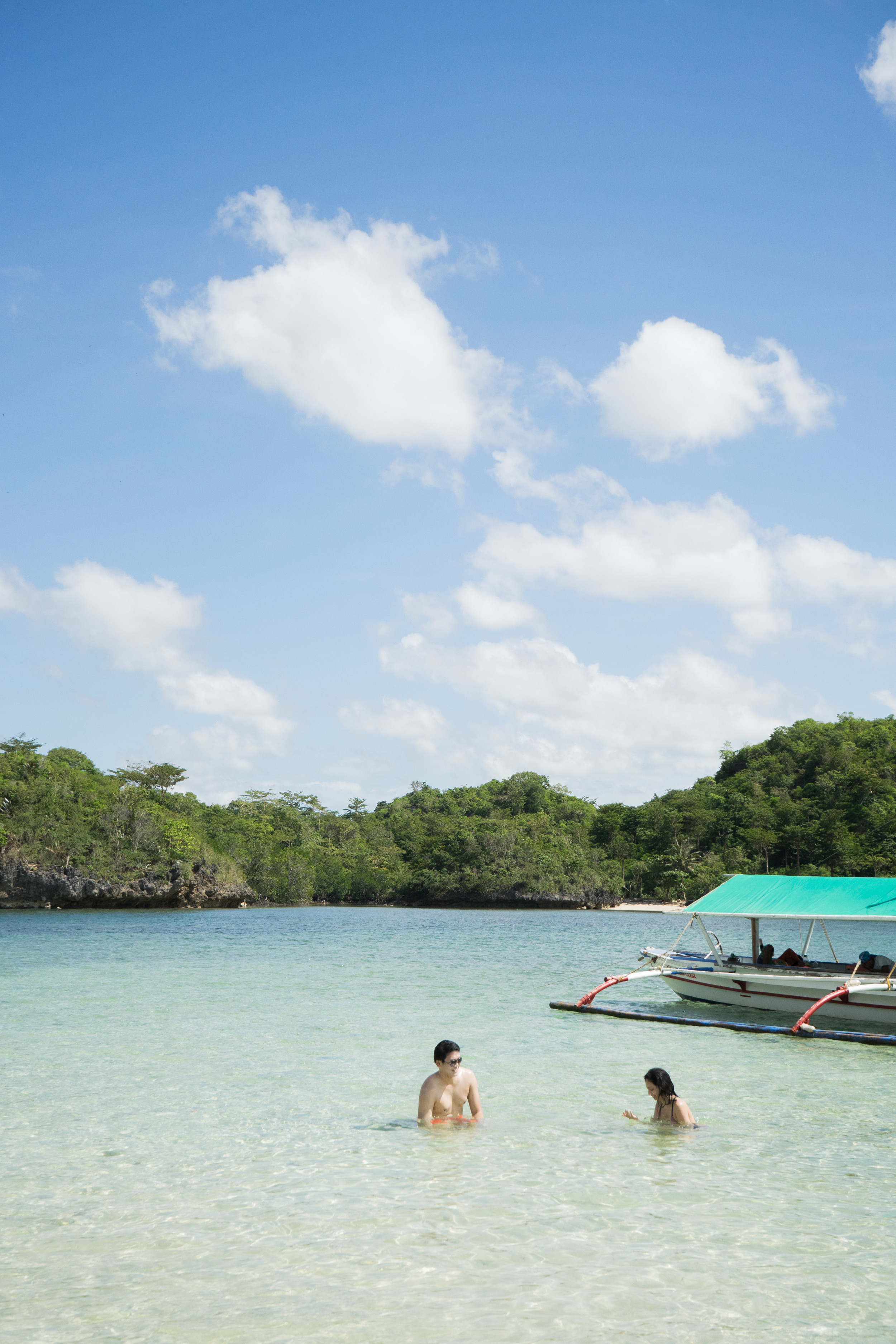 Crystal clear waters in Guimaras!