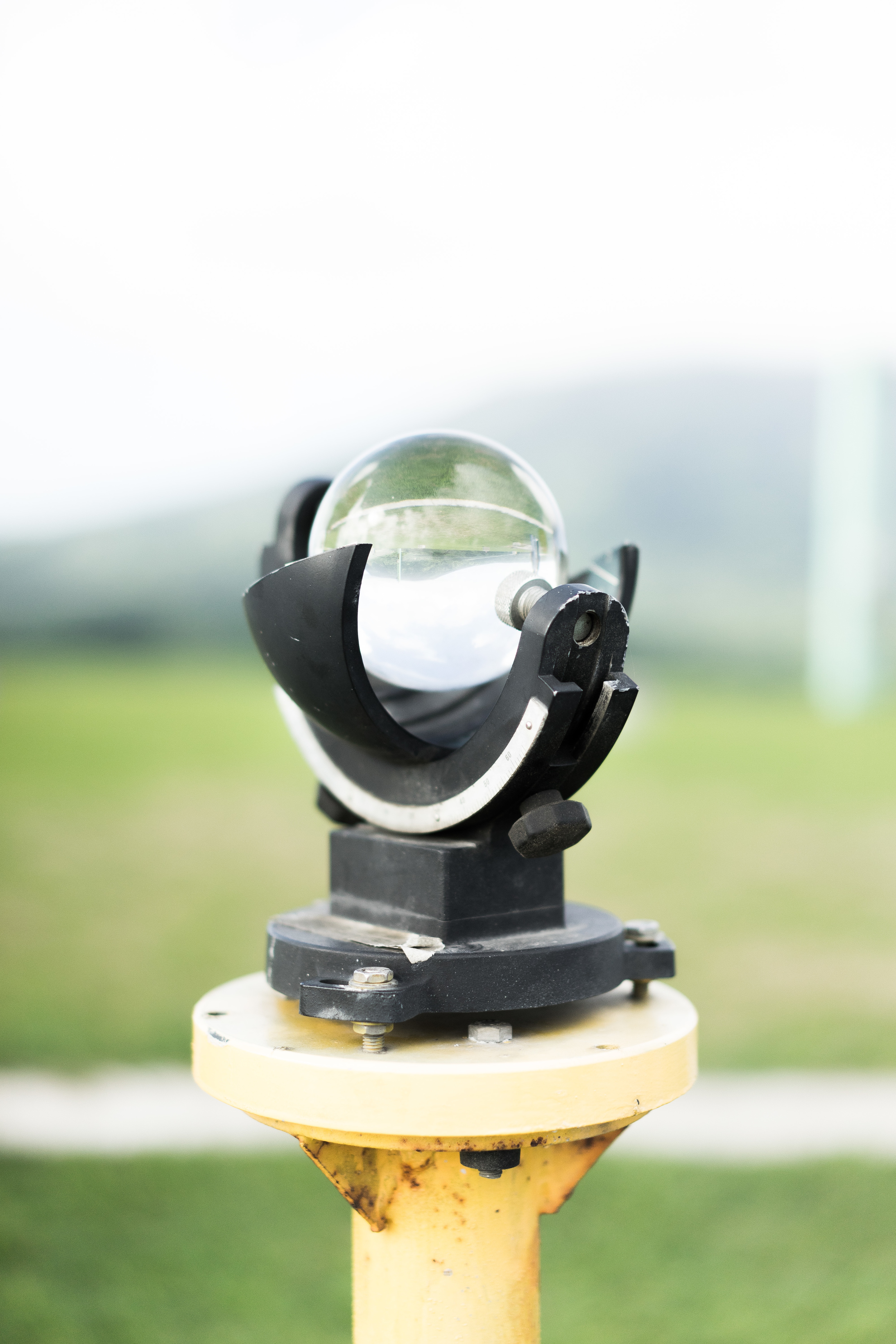 A device used to measure how hot sunlight is!
