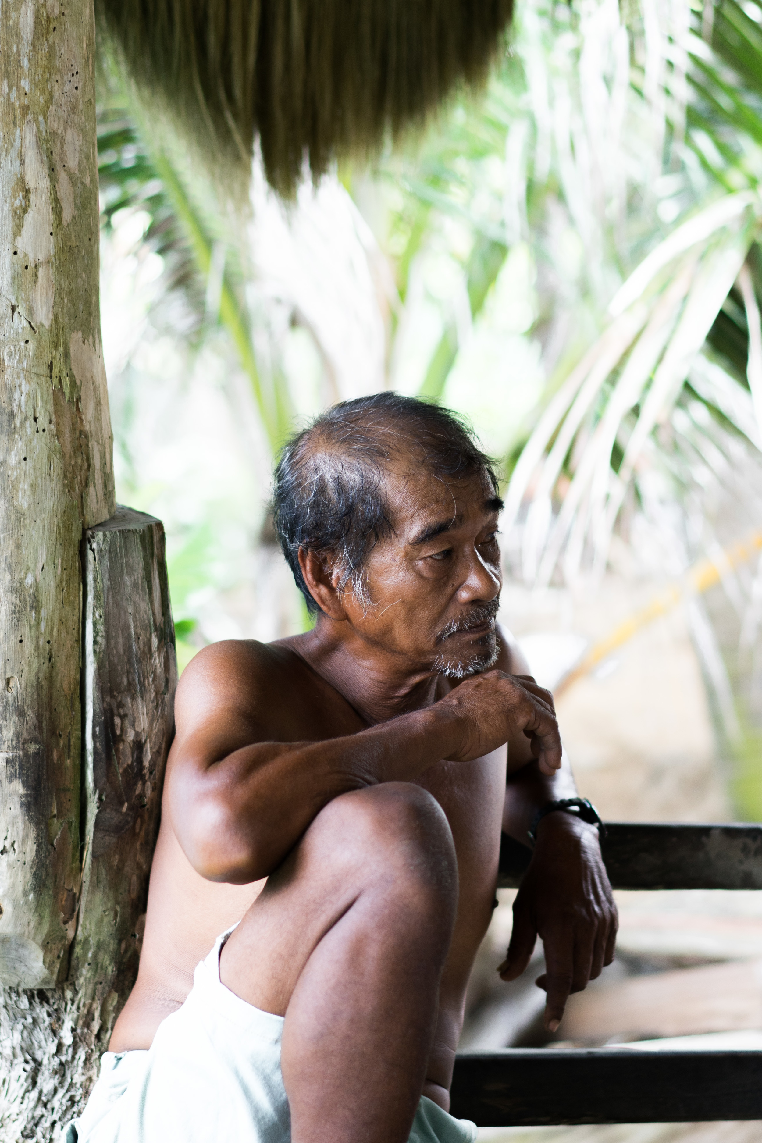We got to meet a shaman of one of the fishing villages in Batanes.