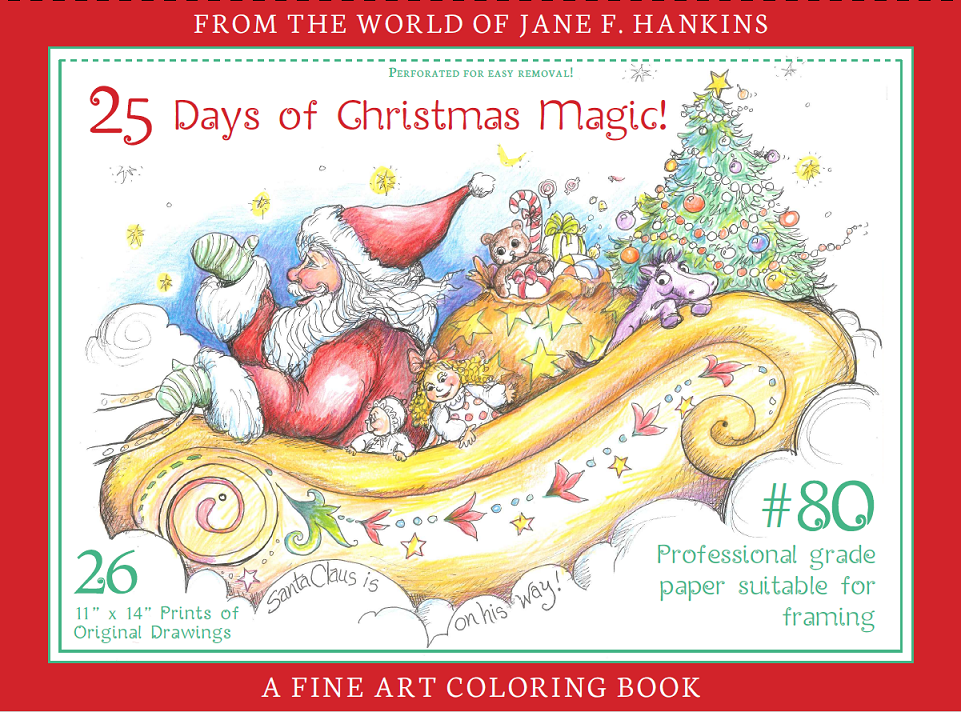 25 Days of Christmas Magic by Jane F. Hankins
